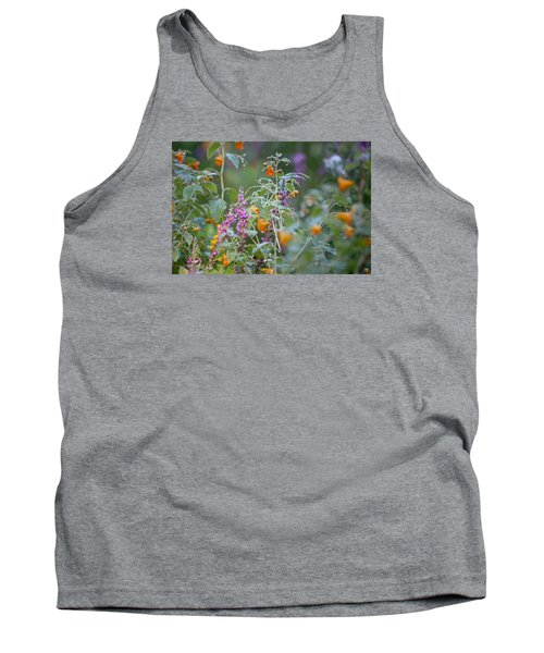 Jewel Weed With Dew Diamonds Tank Top
