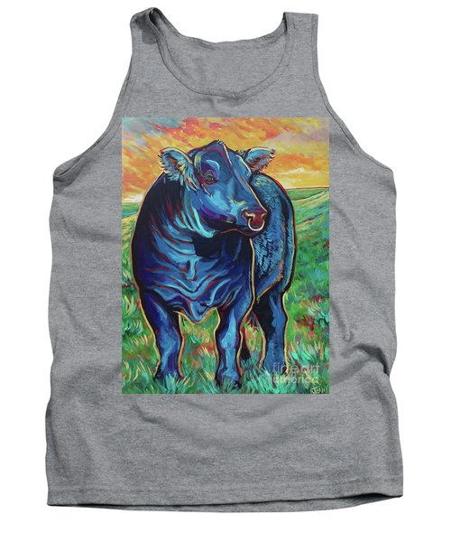 Tank Top featuring the painting Joe by Jenn Cunningham
