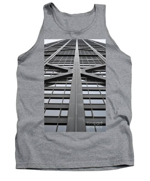 John Hancock Building Tank Top by Mary Machare