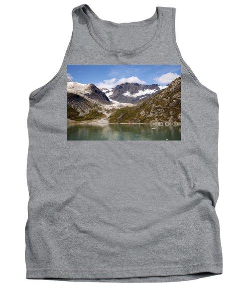 John Hopkins Glacier 5 Tank Top by Richard J Cassato