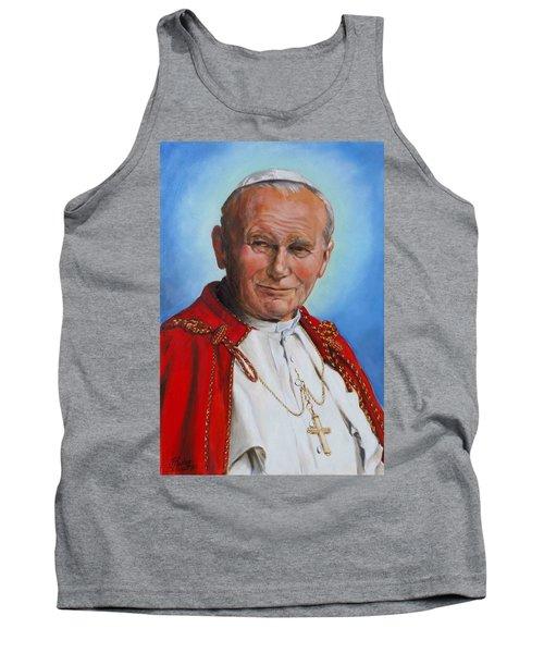 John Paul II Tank Top