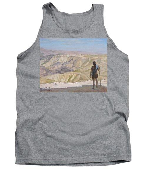 John The Baptist In The Desert Tank Top