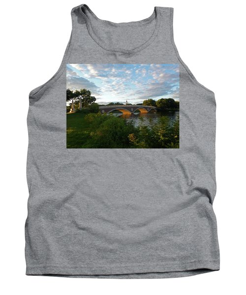 John Weeks Bridge In Harvard Square Cambridge Tank Top