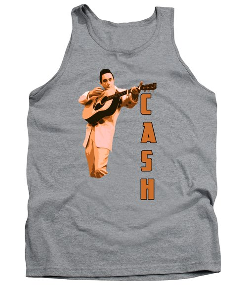 Johnny Cash The Legend Tank Top