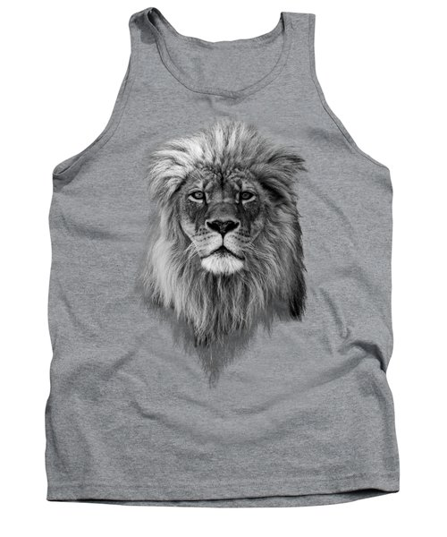 Tank Top featuring the photograph Joshua In Black And White by Everet Regal