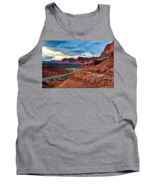 Tank Top featuring the photograph Journey Through Capitol Reef by Jason Roberts