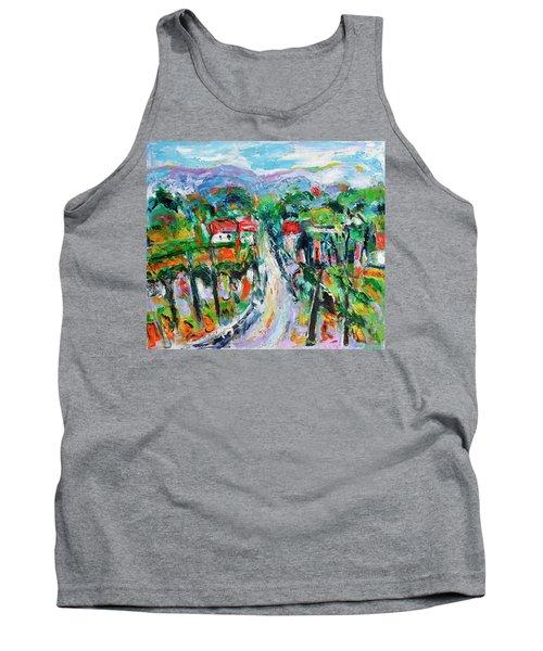 Journey Through The Vines Tank Top