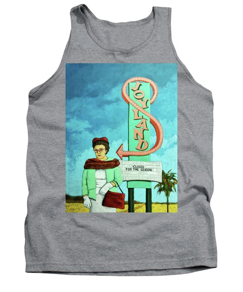 Tank Top featuring the painting Joyland by Linda Apple
