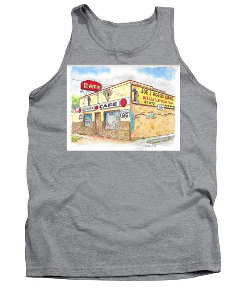 Joe And Aggies Cafe, Route 66, Holbrook, Arizona Tank Top