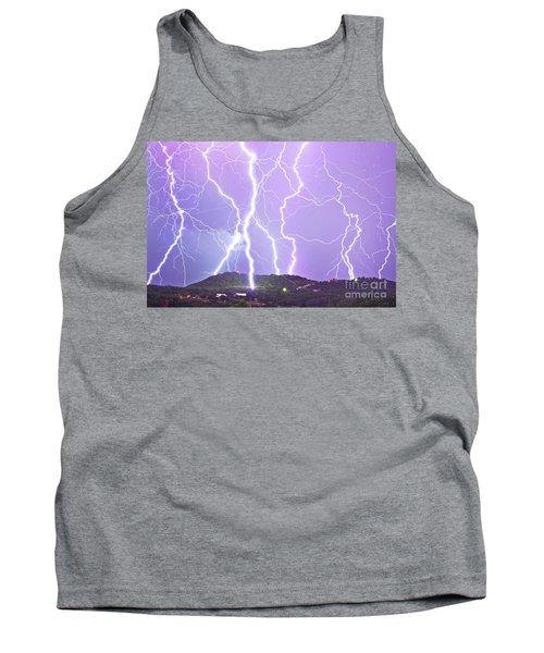 Judgement Day Lightning Tank Top
