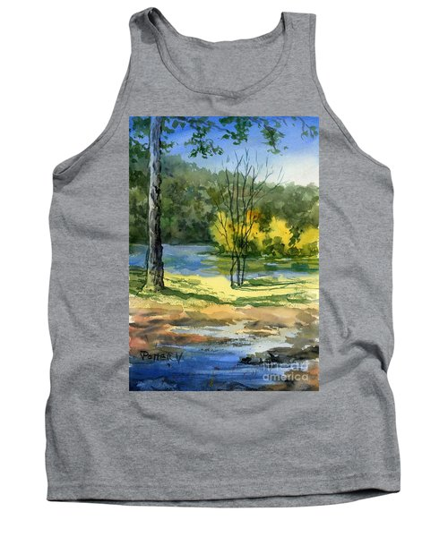 Junction Of White And Spring Rivers Tank Top
