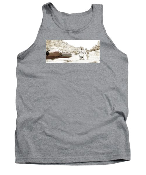 Jundland Wastes Tank Top by Kurt Ramschissel