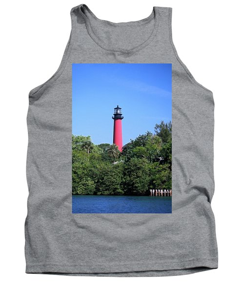 Jupiter Lighthouse Tank Top by Sally Weigand