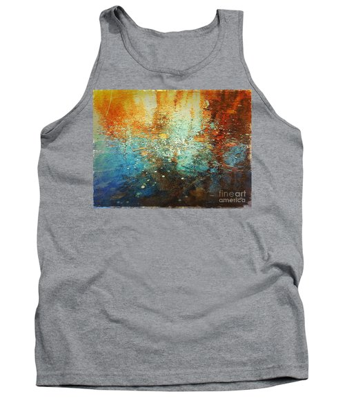Tank Top featuring the digital art Just A Happy Day by Delona Seserman