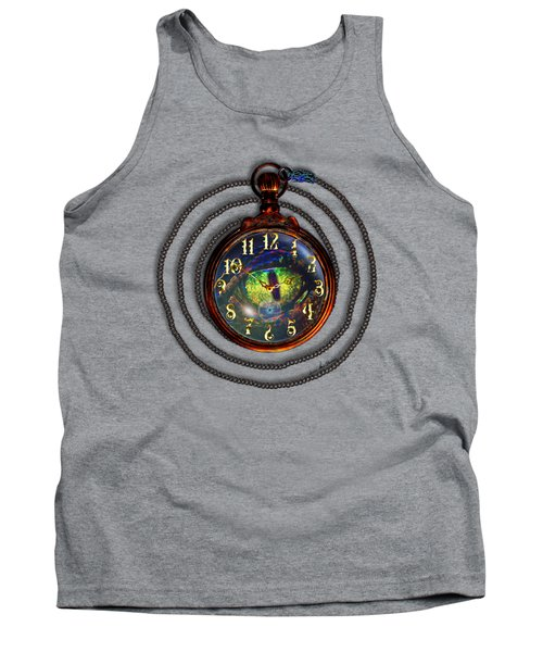 Just A Matter Of Time Tank Top by Iowan Stone-Flowers