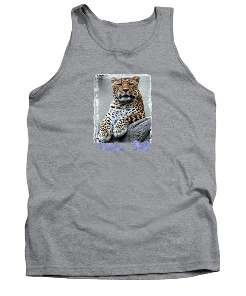 Tank Top featuring the photograph Just Chillin' by DJ Florek