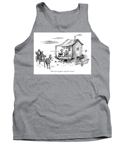Just My Agent Tank Top