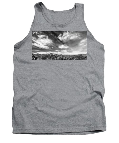 Just The Clouds Tank Top by Jon Glaser