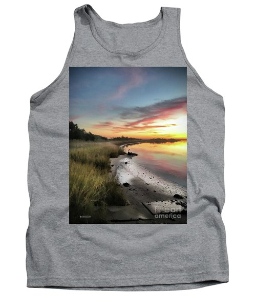 Just The Two Of Us At Sunset Tank Top by Phil Mancuso