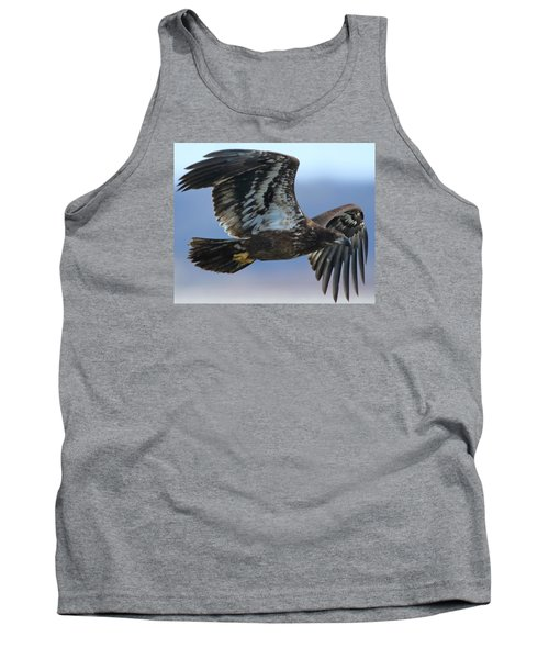 Juvenile Bald Eagle Tank Top by Coby Cooper