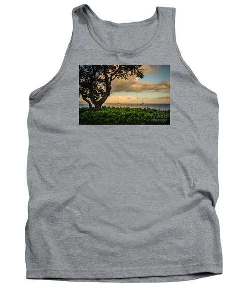 Tank Top featuring the photograph Ka'anapali Plumeria Tree by Kelly Wade