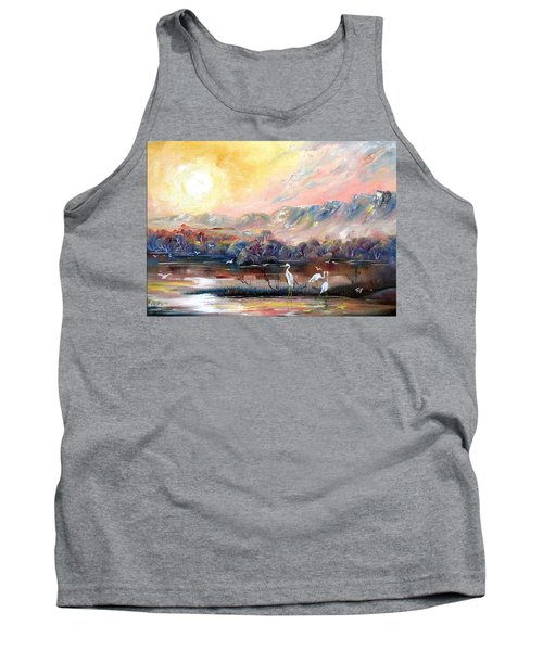 Tank Top featuring the painting Kakadu by Ryn Shell