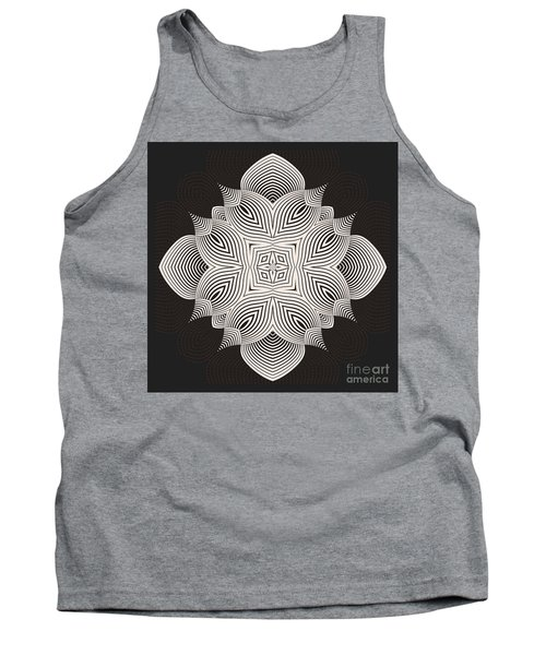 Tank Top featuring the digital art Kal - 71c89 by Variance Collections