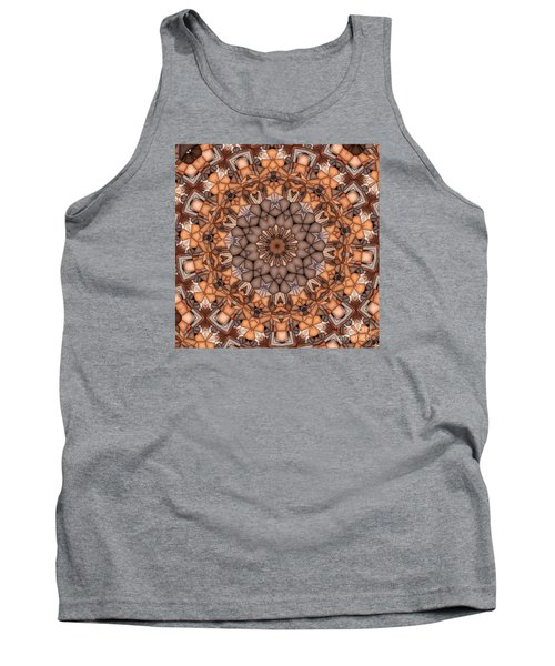 Kaleidoscope 121 Tank Top by Ron Bissett