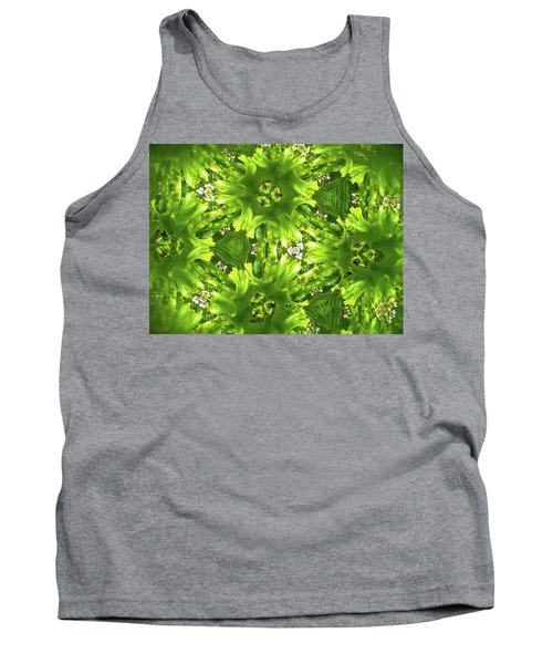 Kaleidoscope Flower Tank Top by Julia Wilcox