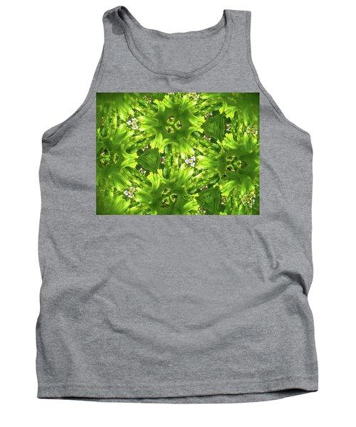 Kaleidoscope Flower Tank Top