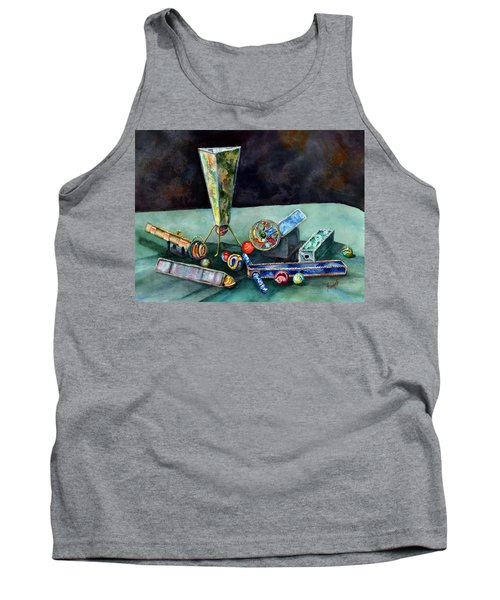 Kaleidoscopes Tank Top by Sam Sidders