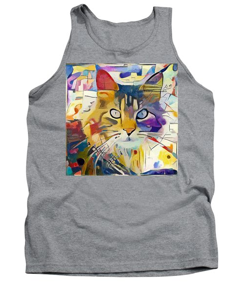 Kandinsky Cat Tank Top