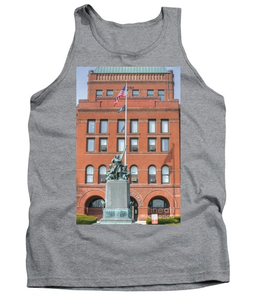 Kane County Courthouse Tank Top by David Bearden