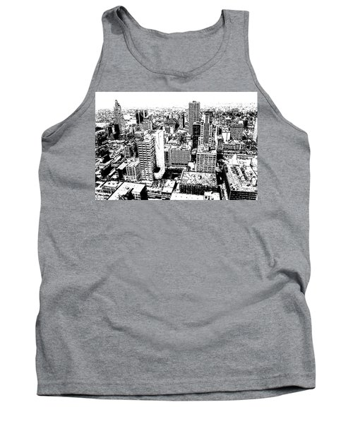 Kansas City Skyline - Ink Tank Top