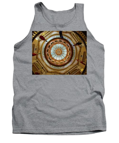 Tank Top featuring the photograph Kansas Dome by Jim Mathis