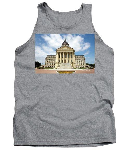 Kansas State Capitol Building Tank Top