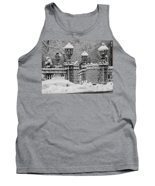 Kc Plaza Is Art In The Snow Tank Top
