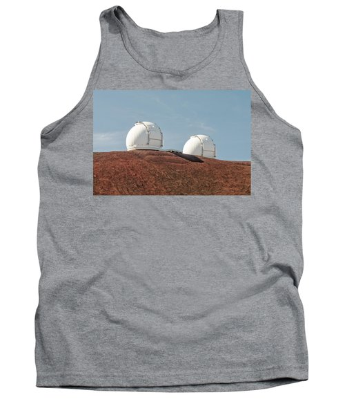 Keck 1 And Keck 2 Tank Top by Jim Thompson