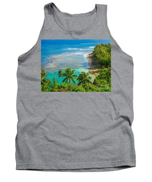 Kee Beach Kauai Tank Top