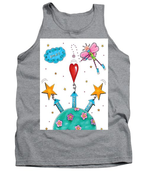 Keep At It Tank Top by Tracy Campbell