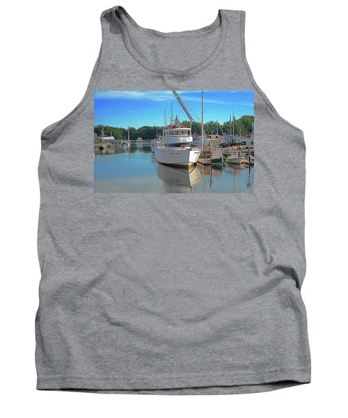 Tank Top featuring the photograph Kennebunk, Maine - 2 by Jerry Battle