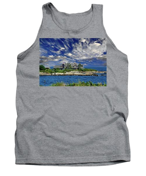 Kennebunkport, Maine - Walker's Point Tank Top by Russ Harris
