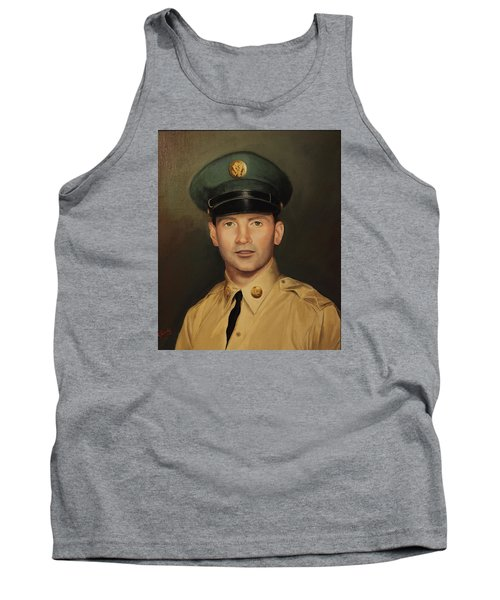 Tank Top featuring the painting Kenneth Beasley by Glenn Beasley