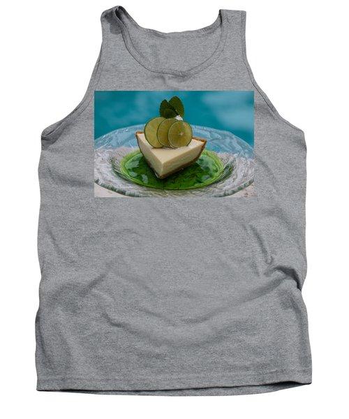 Key Lime Pie 25 Tank Top by Michael Fryd