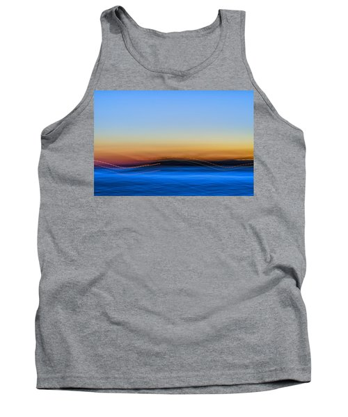 Key West Abstract Tank Top