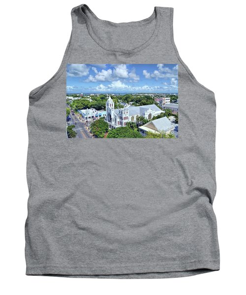 Tank Top featuring the photograph Key West by Olga Hamilton