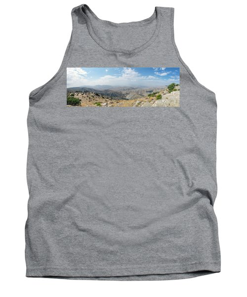 Keys View In Joshua Tree National Park Tank Top