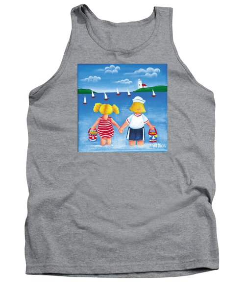 Kids In Door County Tank Top by Pat Olson