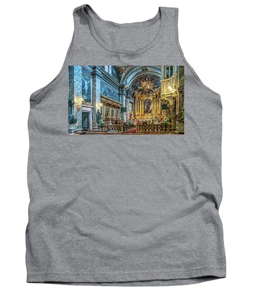 Kielce Cathedral In Poland Tank Top