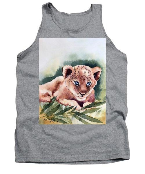 Kijani The Lion Cub Tank Top